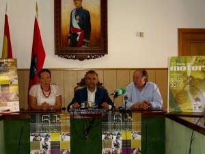 De izquierda a derecha, Quesada, Palazuelo y Falagán en la presentación de la carrera.