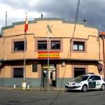 Imagen de archivo del cuartel de la Guardia Civil de La Bañeza.