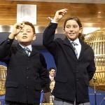 Los niños de San Ildefonso cantan el Gordo, en una imagen de archivo. / Foto: EFE