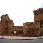 Una vista del exterior del castillo de Villanueva de Jamuz.