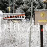 Original estampa en la salida de La Bañeza por la carretera de Villalís de la Valduerna.