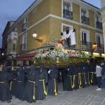 Un momento de la llegada de La Piedad a la Plaza de San Martín, saliendo de la calle Zapaterías. / Foto: Mauricio Peña