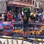 La mesa informativa se instaló en la plaza Fray Diego Alonso de La Bañeza.