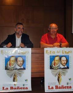 Palazuelo y Gallego durante la presentación de la feria.