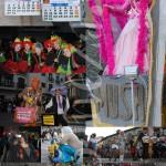 Algunos de los disfraces que se han podido ver en el desfile del domingo.