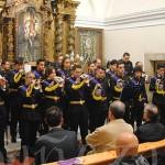 Alberto Callejo dirigió la banda en la presentación de la nueva temporada procesional.
