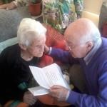 Amalia celebró su 100 cumpleaños arropada por los suyos.
