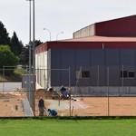 Estado actual de las obras en la zona polideportiva. / Foto: Rubén