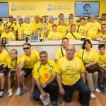 Una imagen de la visita de la delegación bañezano al Estadio Gran Canaria. / Foto: Tinta Amarilla
