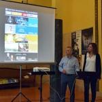 Palazuelo y Martínez, en la presentación de la programación.
