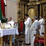 La misa de San Roque fue oficiada por el sacerdote Ricardo Fuertes.