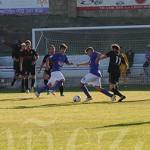 La Bañeza FC y el SC Uxama empataron en La Llanera.