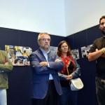 Un momento de la apertura al público de la exposición fotográfica. / Foto: Rubén