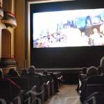 Proyección de 'Tardes de Gloria' en el Teatro Municipal de La Bañeza.