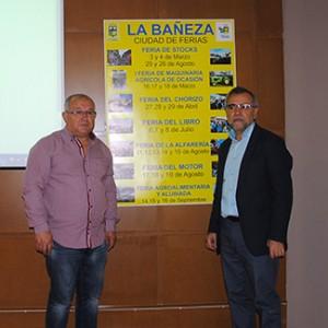Gallego y Palazuelo con el calendario de ferias para 2018.