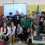Los alumnos compartieron con Antonio Odón Alonso dos jornadas de trabajo.