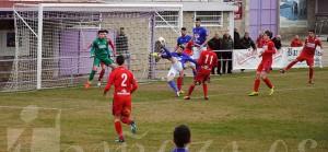 La Bañeza FC logró imponerse sobradamente al Numancia B.