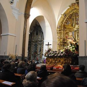 La Virgen de las Angustias en El Salvador.