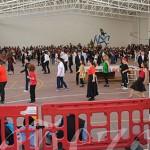Las actuaciones de los alumnos protagonizaron la tarde del viernes.