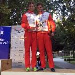 José Julián Becerro y Miguel Fernández, bronce en el Europeo de Maratón de Croacia.