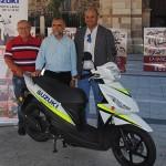 Entre las actividades de la Feria del Motor habrá un sorteo de una 'scooter'.