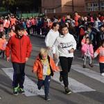 La carrera se desarrolló en el exterior del colegio y en la zona polideportiva de la ciudad. / Foto: Rubén