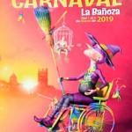 Cartel anunciador del Carnaval de La Bañeza 2019.
