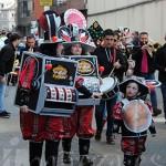 Los niños disfrutaron del carnaval bañezano.