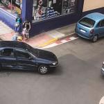 El accidente tuvo lugar en el Paseo de los Frailes, esquina con la calle Las Cortes.