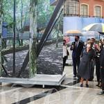 La muestra se encuentra en la Plaza Mayor de La Bañeza.